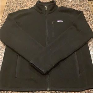Patagonia zip up sweater medium